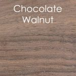Chocolate walnut panel