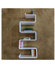 Modular-shelf-Snake-bookshelf-for-the-wall