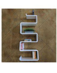 Modular-shelf-Snake-bookshelf-for-the-wall