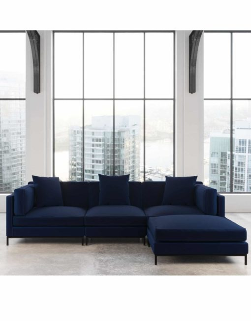 migliore-best-fabric-blue-sofa-design-in-stunning-apartment