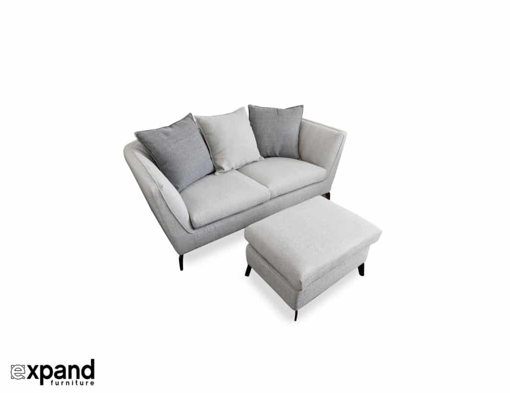 Skyline Small Apartment Sofa With Ottoman Expand