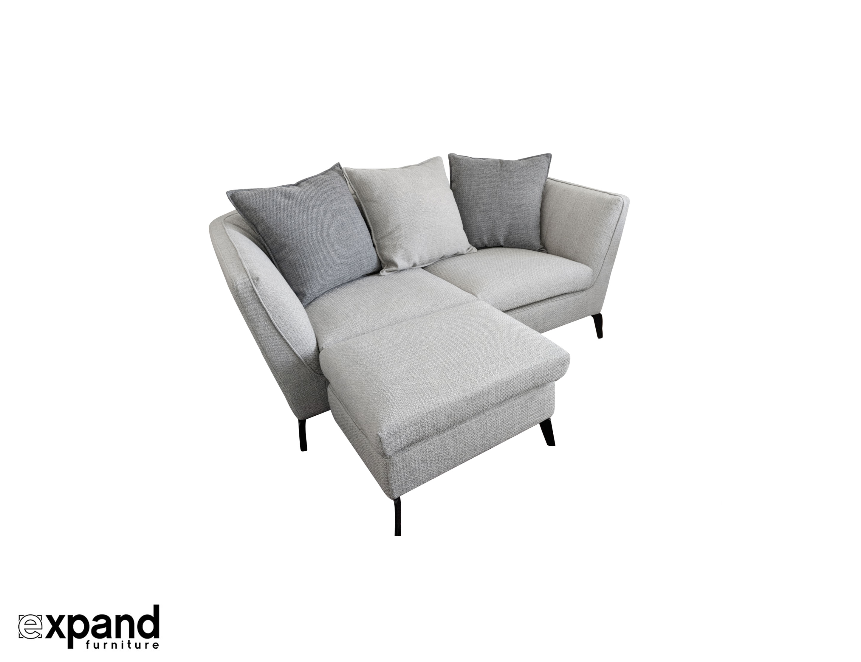Skyline Small Apartment Sofa With Ottoman Expand Furniture