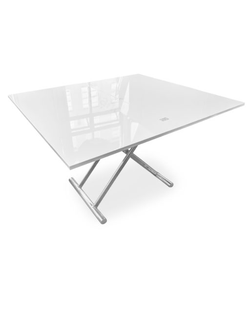 Alzare-Transforming-Table-in-White-Gloss-opened-into-larger-table