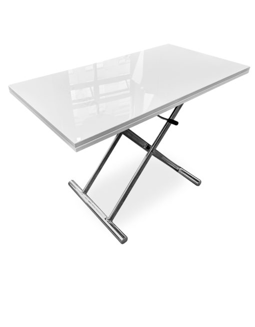 Alzare-Transforming-Table-raised-in-small-form-with-hydrualic-lift