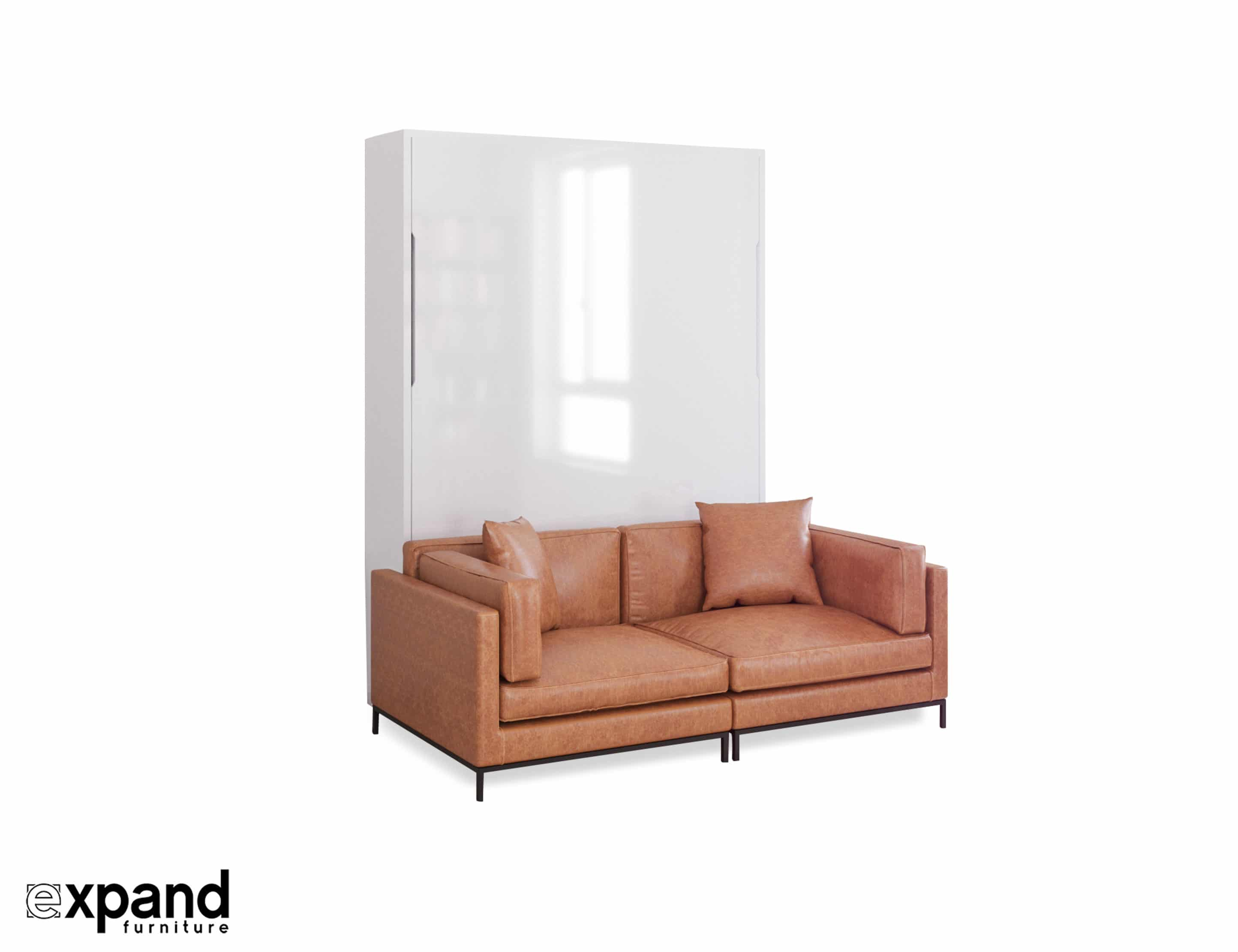 Incredible Murphysofa Migliore 2 Seat Sofa In Leather Or Microfiber Evergreenethics Interior Chair Design Evergreenethicsorg