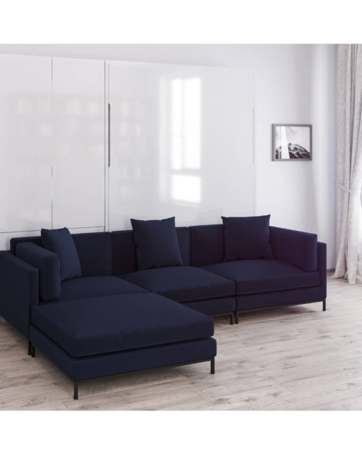 MurphySofa-Migliore-Leather-wall-bed-sofa-combination-navy-blue
