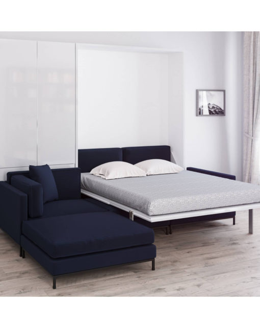 MurphySofa-Migliore-Leather-wall-bed-sofa-combination-navy-blue-open
