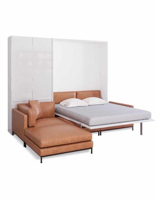MurphySofa-Migliore-Leather-wall-bed-sofa-open-over-sofa