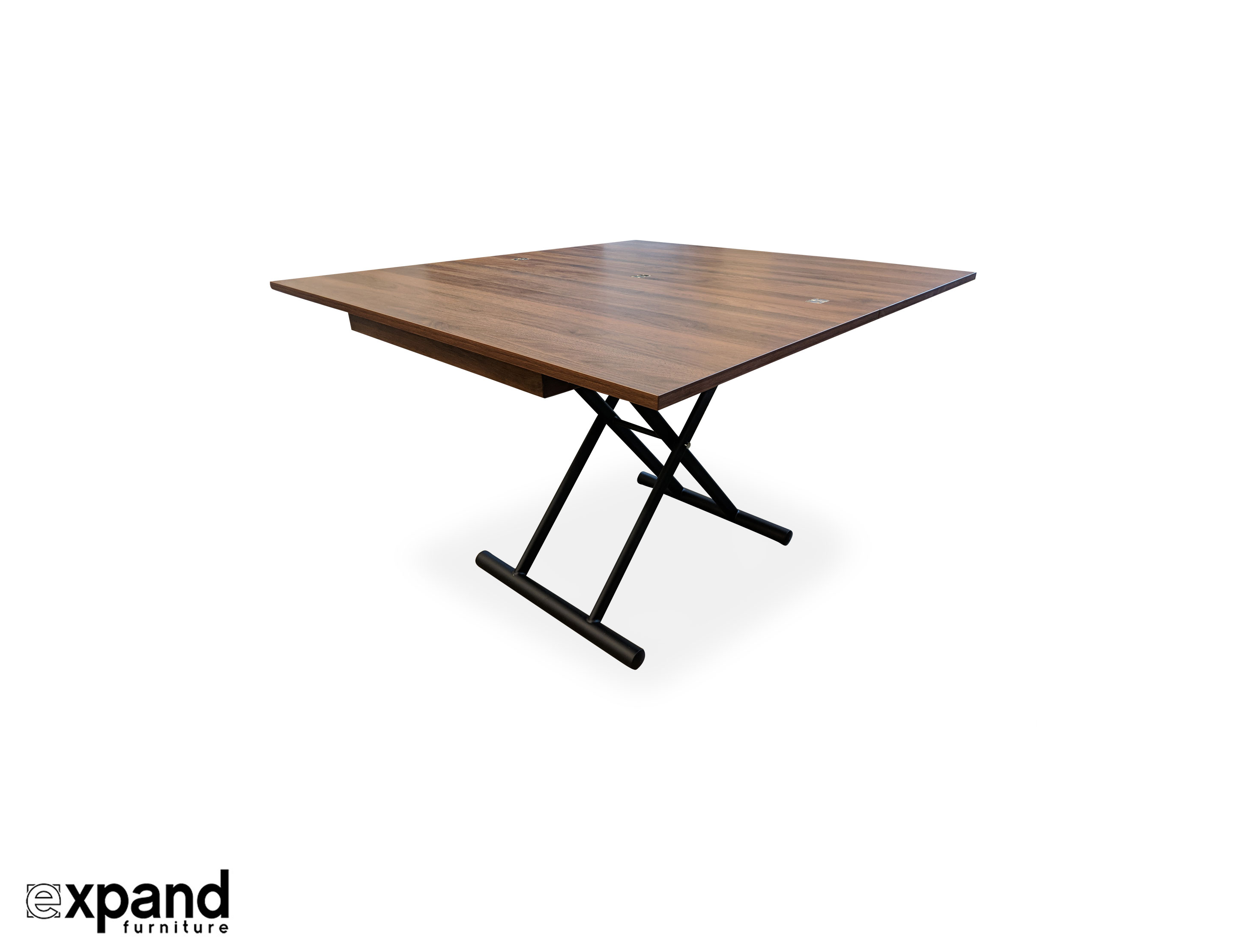 Fabulous Alzare Square Transforming Coffee Table Gmtry Best Dining Table And Chair Ideas Images Gmtryco