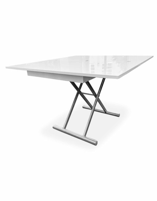 New-Alzare-Transforming-table-opened-in-dining-mode-in-glossy-white