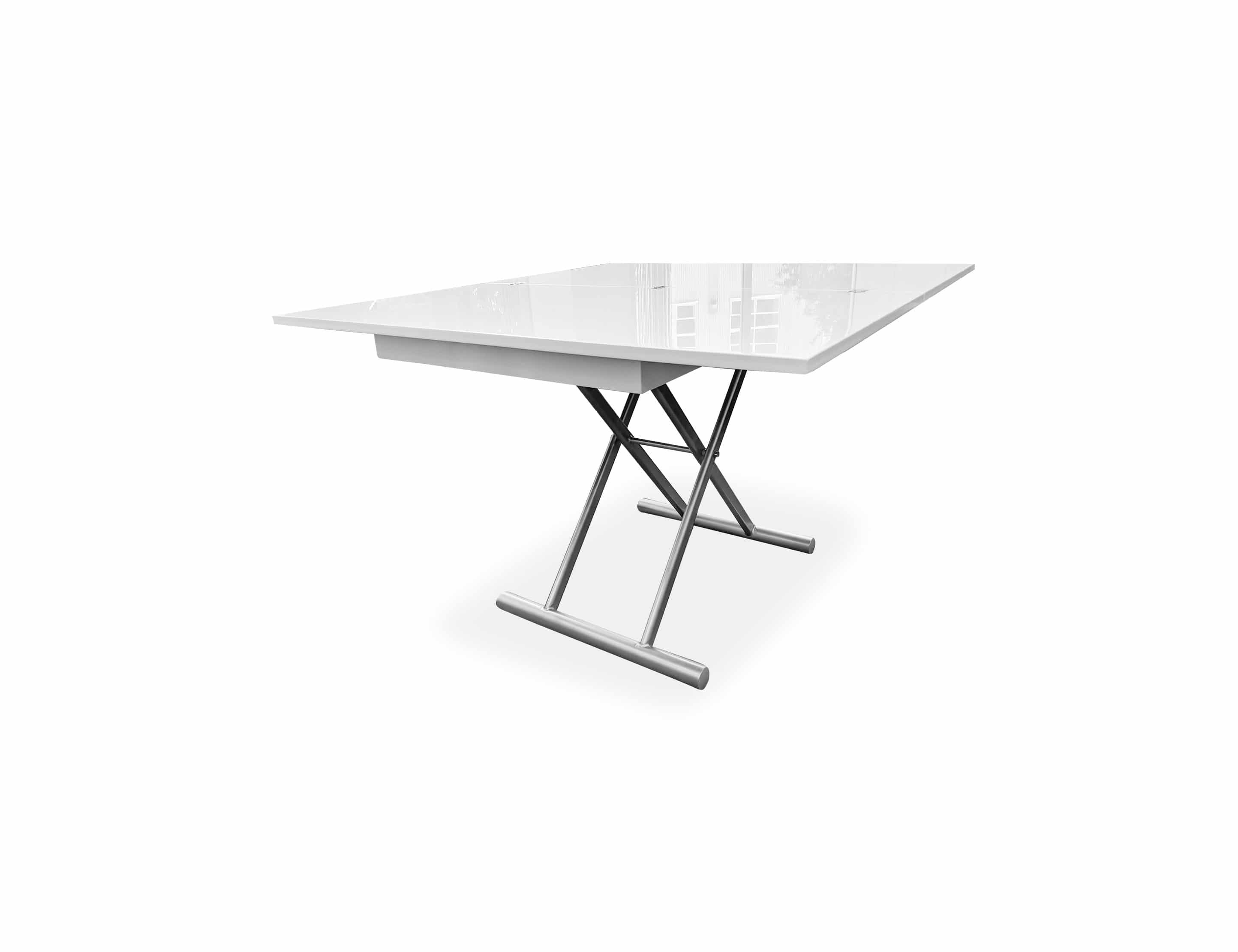 Alzare Square Transforming Coffee Table Expand Furniture Folding Tables Smarter Wall Beds Space Savers
