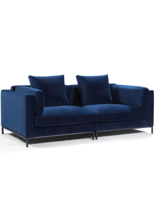 migliore-comfy-apartment-sized-sofa-in-navy-blue-microfiber-mid-century-modern-style