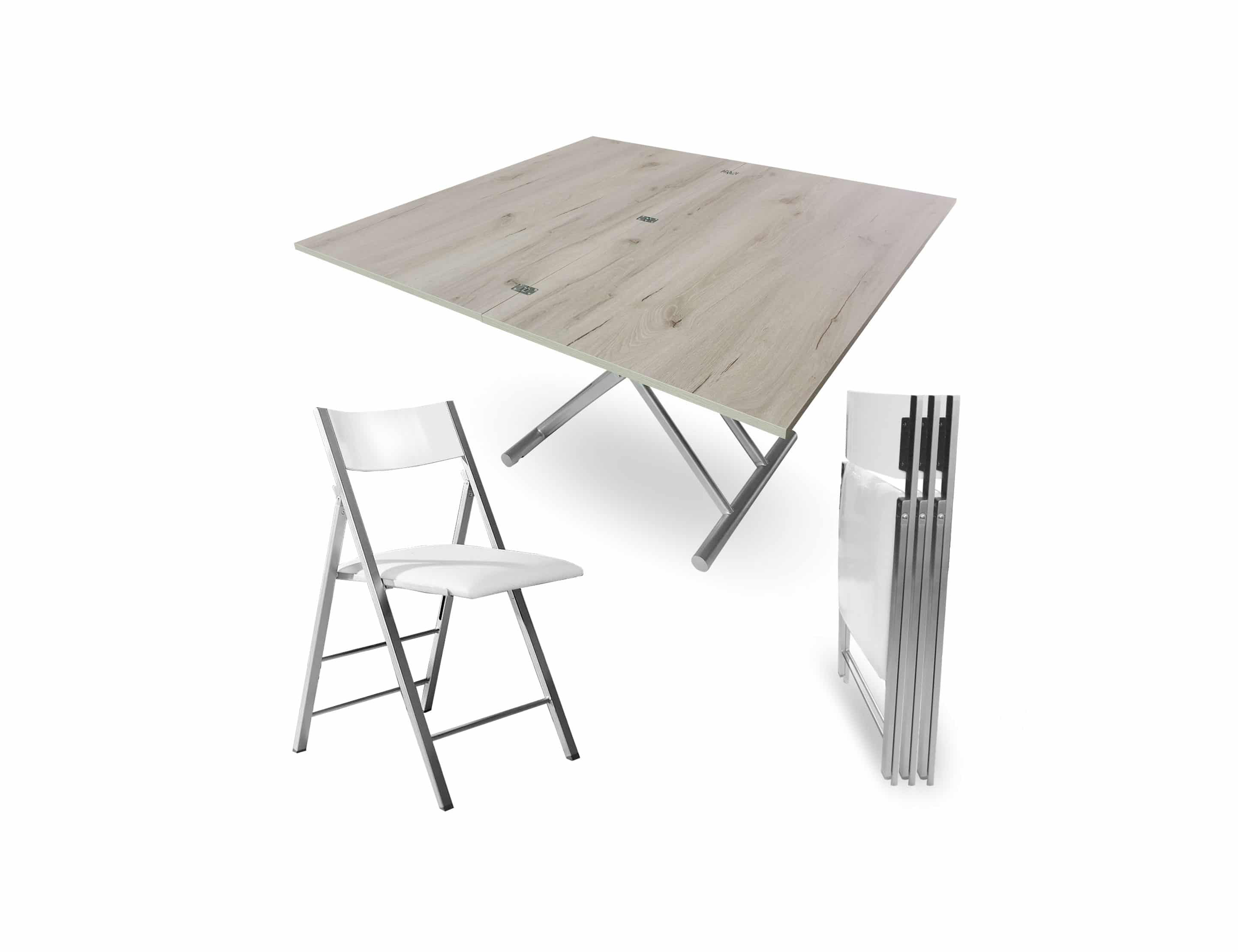 The Alzare Raising Coffee Dining Table Set Expand Furniture Folding Tables Smarter Wall Beds Space Savers