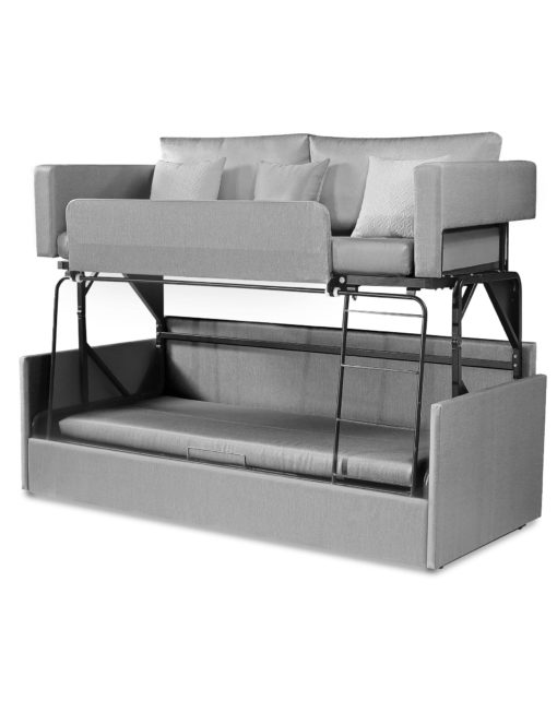 Dormire Sofa Bunk Bed Sleeps 2 People Easy