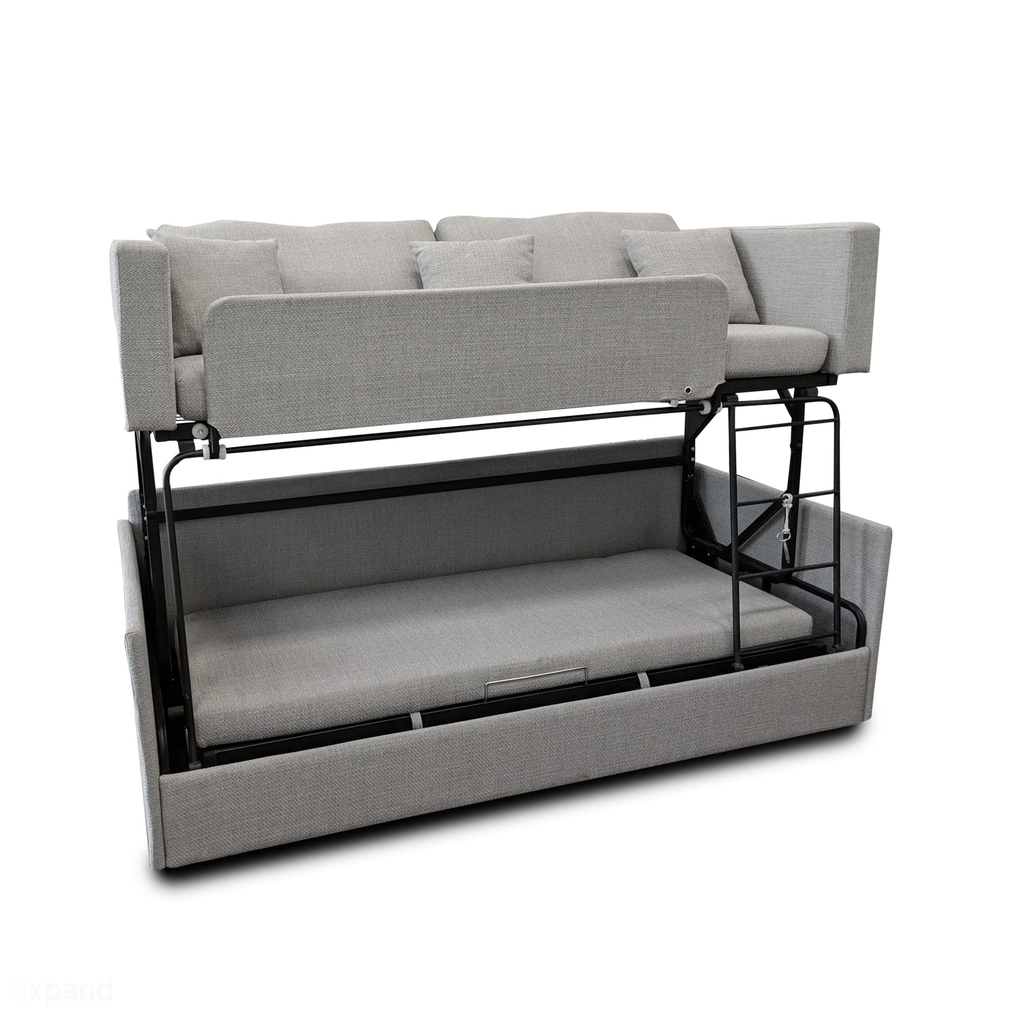 Marvelous The Dormire Bunk Bed Couch Transformer Short Links Chair Design For Home Short Linksinfo