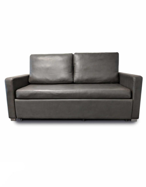 Harmony-Sofa-bed-in-dark-grey-eco-leather