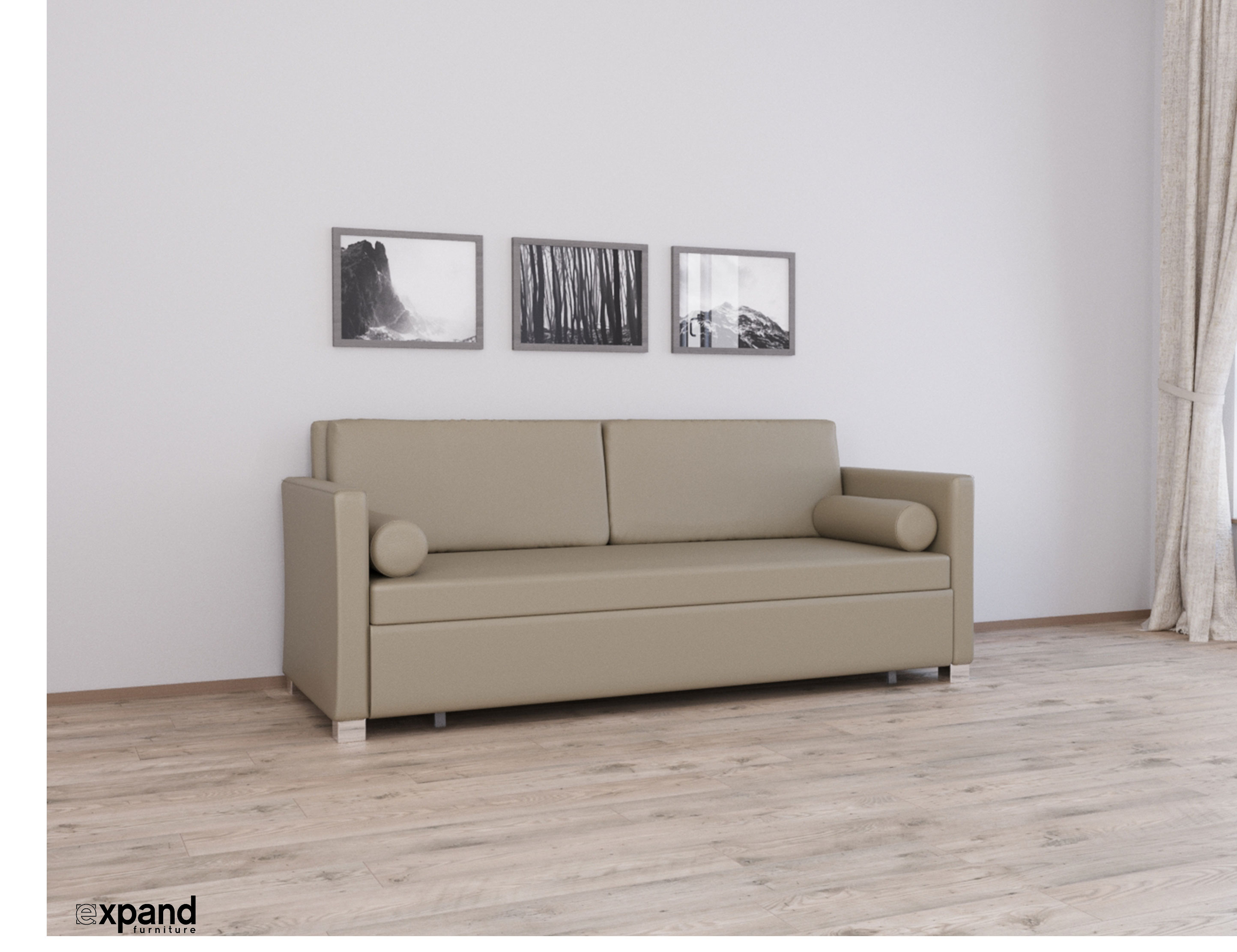 Harmony Sofa Bed Queen American Leather Eco Expand