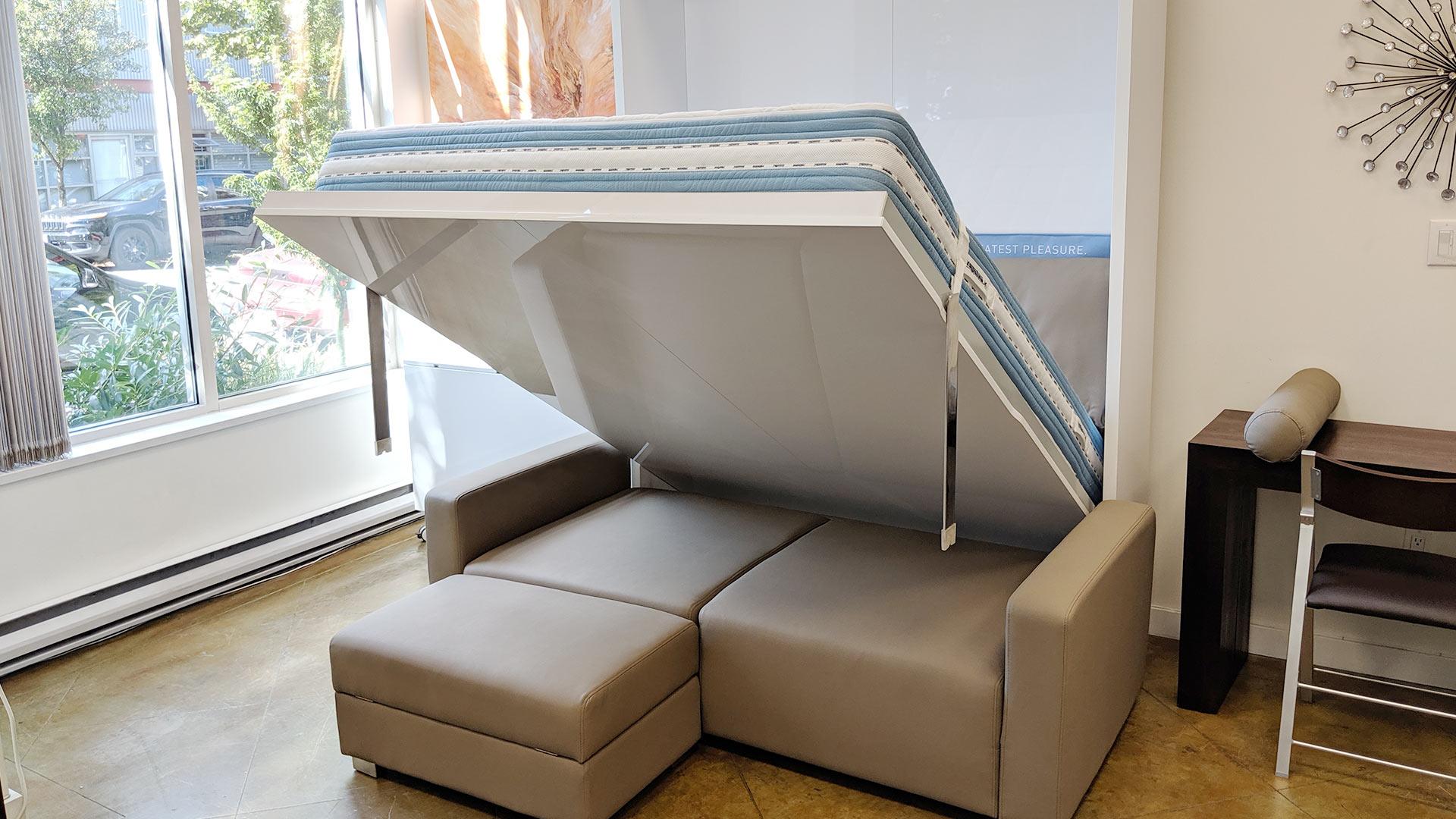 Murphysofa Minima Queen In Eco Leather Expand Furniture