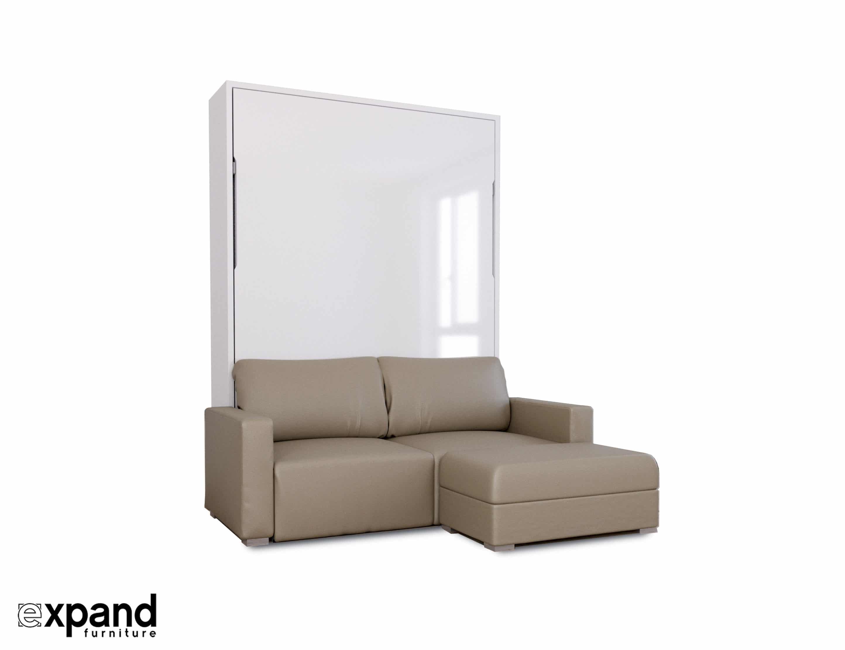 Awe Inspiring Murphysofa Minima Queen In Eco Leather Creativecarmelina Interior Chair Design Creativecarmelinacom