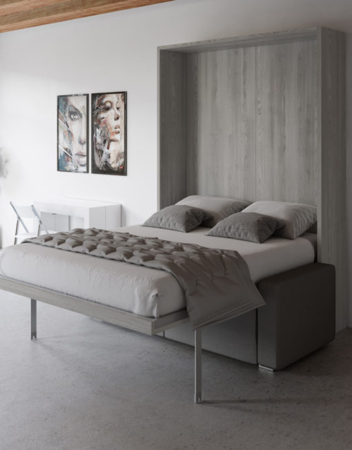 MurphySofa-clean-in-cascine-pine-grey-wood-wall-bed-sofa-open