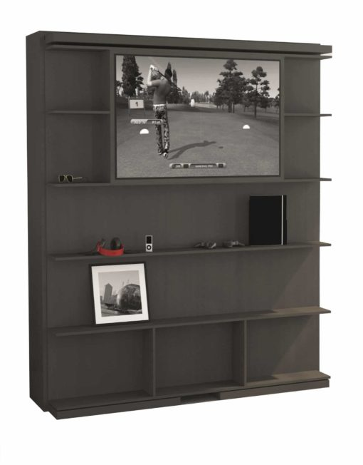 compatto-revolving-wall-bed-tv-bookshelf