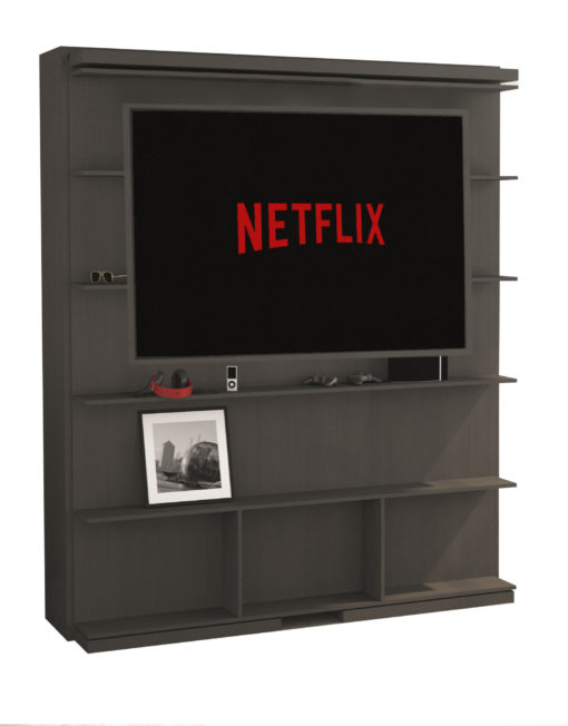 compatto-revolving-wall-bed-tv-bookshelf-with-60-inch-tv