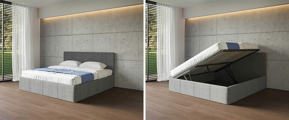 Space Saving Wall Bed Store Expand Furniture