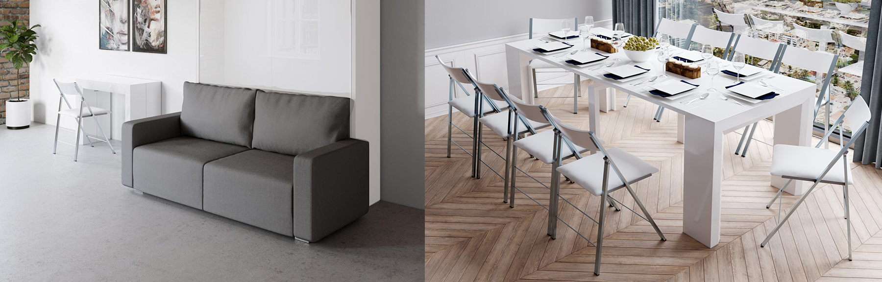 USA Space-saving-convertible-furniture-like-transforming-tables-wall-beds-with-sofa-shop extending-tables-by-Expand-Furniture