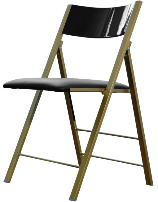 nano-folding-chair-in-black-gloss-with-gold-legs.