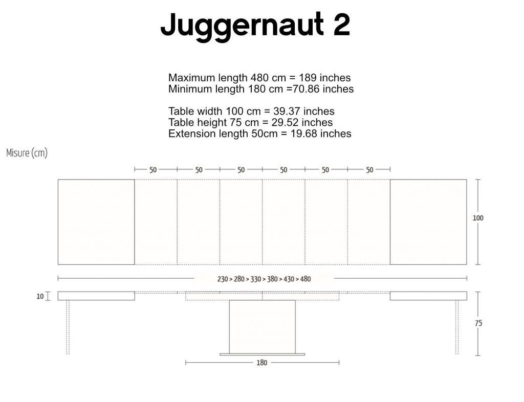 juggernaut 2 dimensions