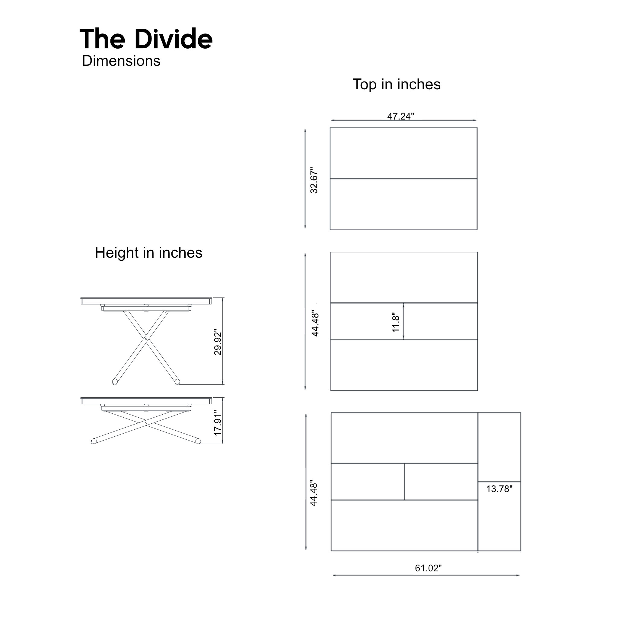 The-divide-table-sizes-in-inches