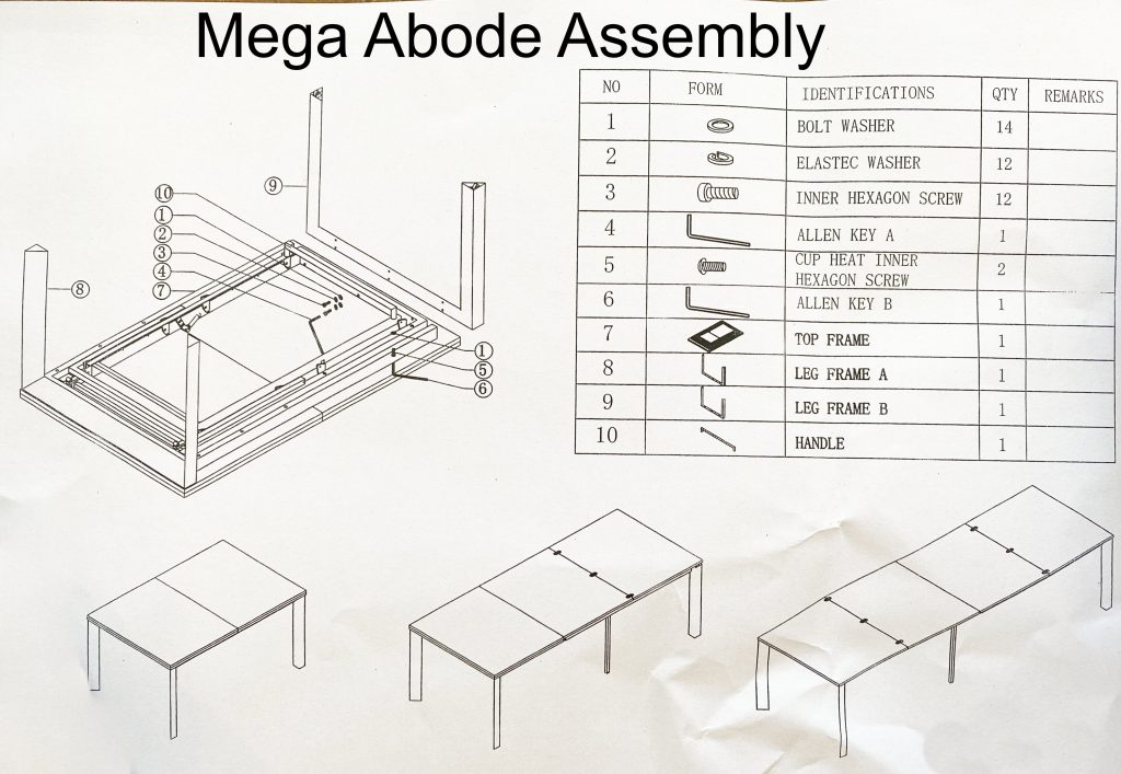 Mega abode manual