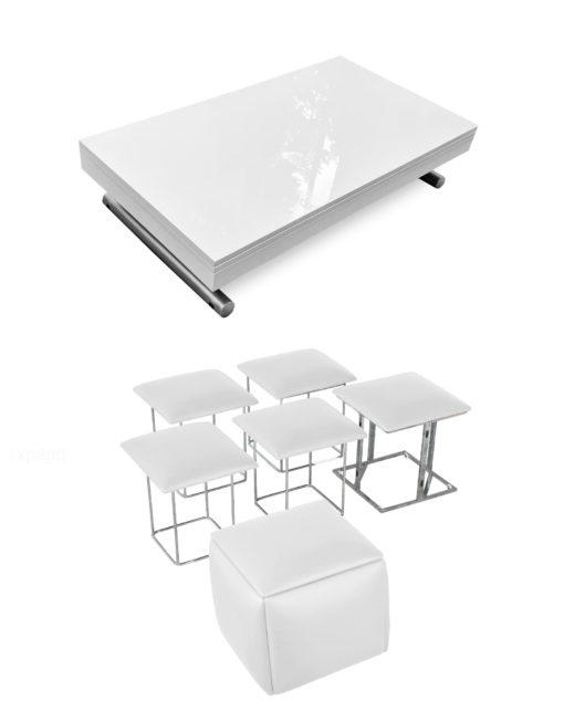 white-gloss-alzare-and-white-companion-cube-dinner-set