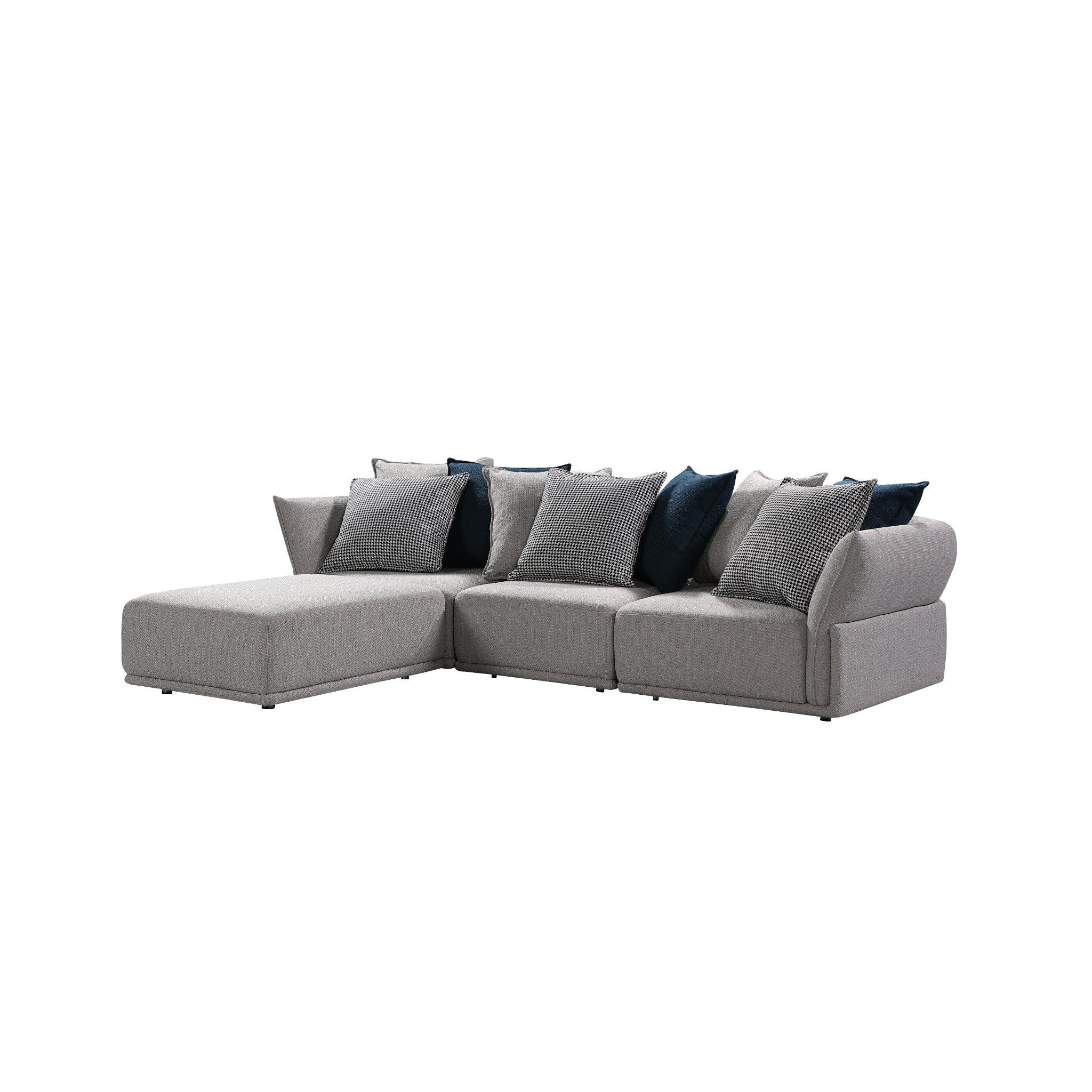 Stratus Sofa Modern Modular Sectional Set Of 4 Expand Furniture Folding Tables Smarter Wall Beds Space Savers