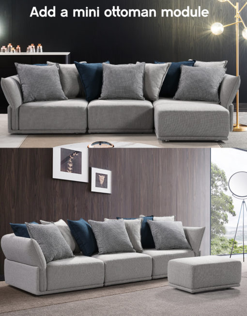 Add-a-mini-ottoman-module-to-the-stratus-grey-sofa-in-modern-home