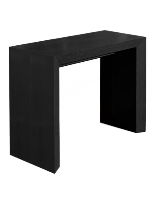 Junior-Giant-edge-extending-console-transformer-table-in-black-wood-seats-10