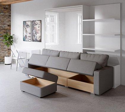 Space Saving Sofas with hidden storage