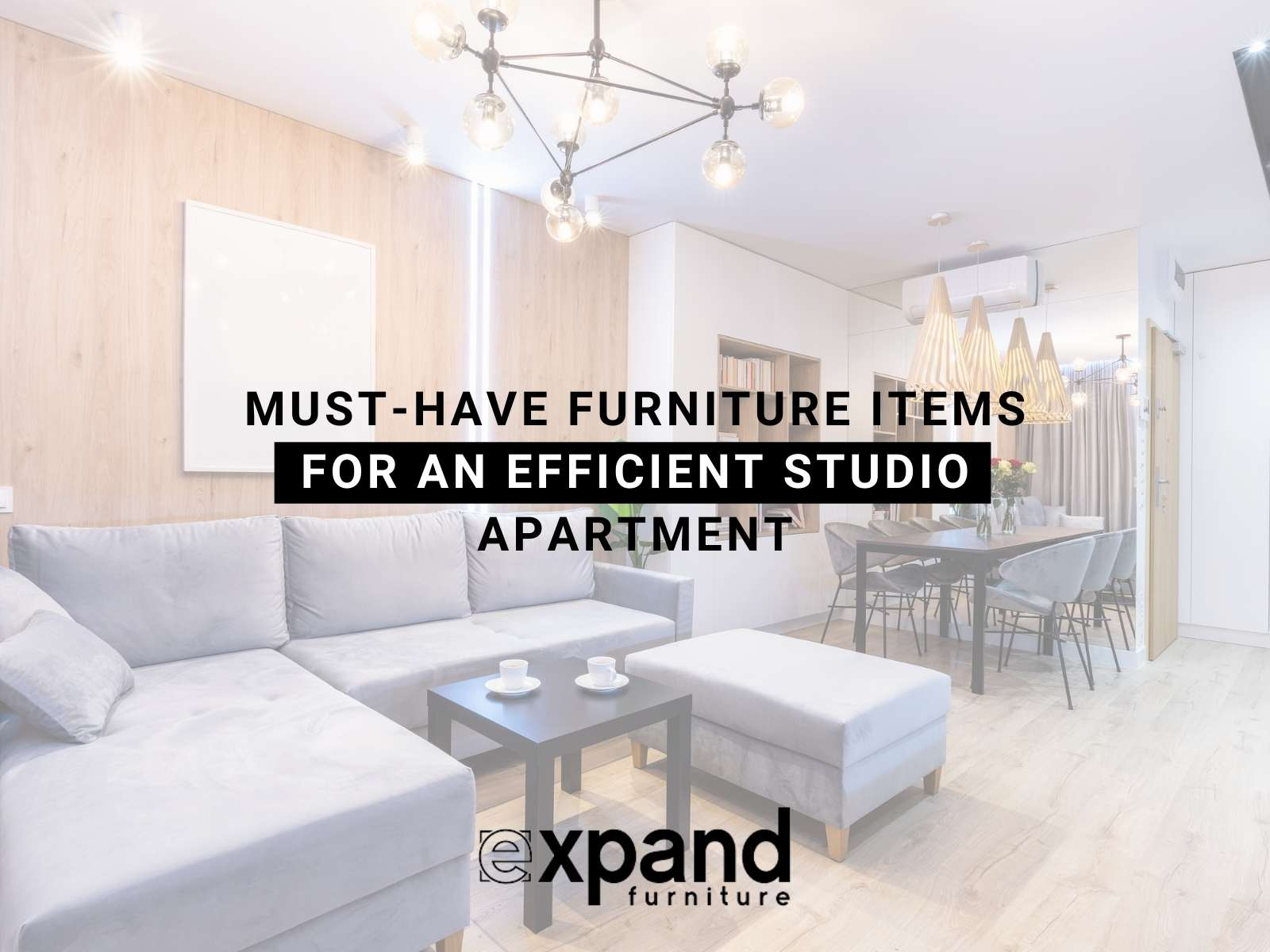 Must-Have Furniture Items For An Efficient Studio Apartment