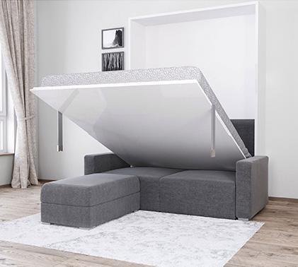 Hidden Wall Bed With Sofa
